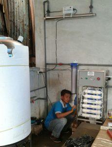 Filter Air Minum RO Kapasitas 200 gpd / 30 galon perhari